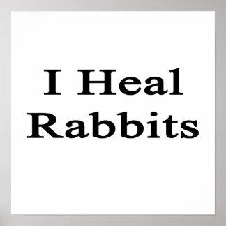 Curo conejos poster