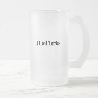 Curo tortugas taza de café