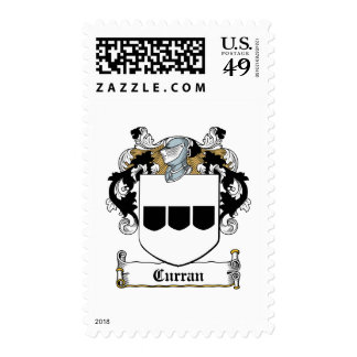 Curran Family Crest Postage