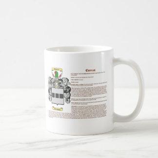 Curran (meaning) coffee mug