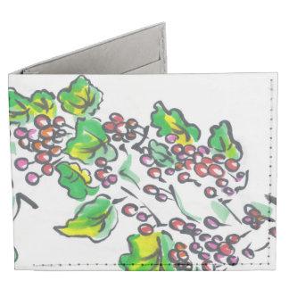 Currants Berries Art Wallet