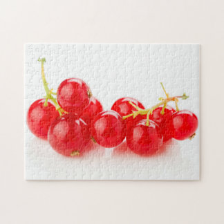 Currants intense red color jigsaw puzzle