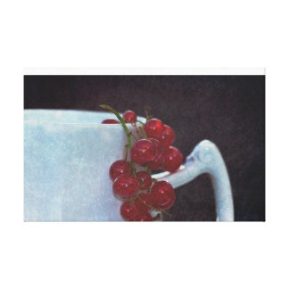 Currants into the jug canvas print
