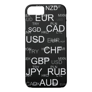 currency abbreviations iPhone 7 case