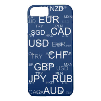 currency abbreviations iPhone 8/7 case