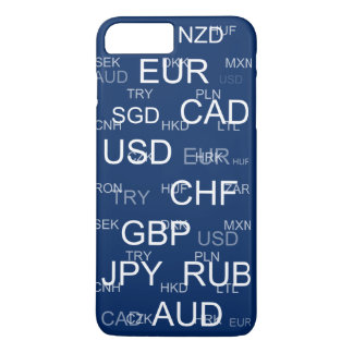 currency abbreviations iPhone 8 plus/7 plus case