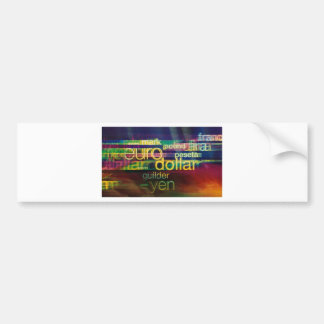 Currency Bumper Stickers