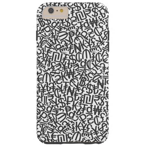 Currency Tough iPhone 6 Plus Case
