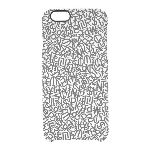 Currency Clear iPhone 6/6S Case