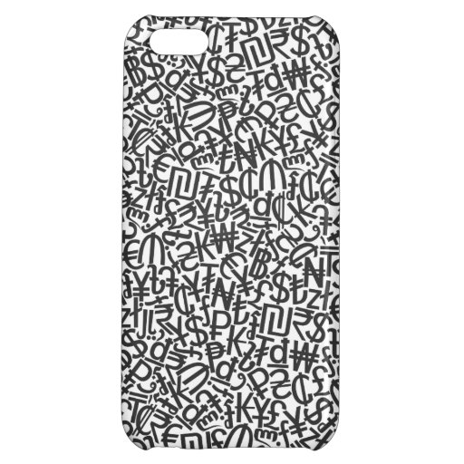 Currency Case For iPhone 5C