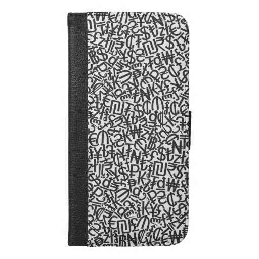 Currency iPhone 6/6s Plus Wallet Case