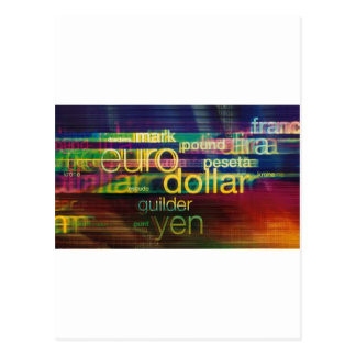 Currency Postcard