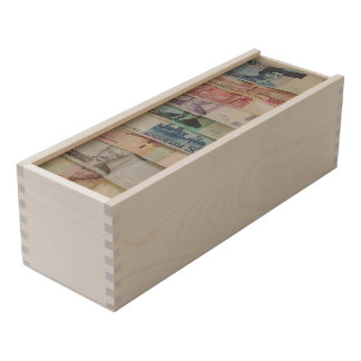 Currency Wine Box