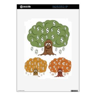 CurrencyTreesL.jpg Calcomanía Para iPad 2