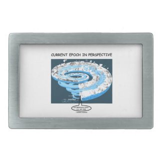 Current Epoch In Perspective Anthropocene Epoch Belt Buckle