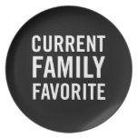 Current Family Favorite Dinner Plate