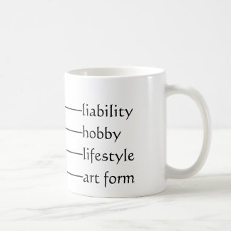Current geek level coffee mug