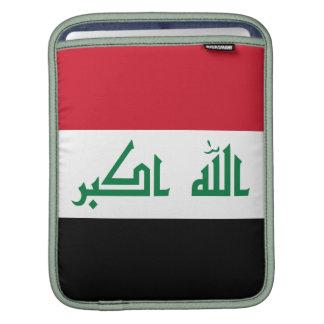 Current National Flag of Iraq iPad Sleeve
