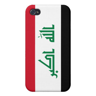 Current National Flag of Iraq iPhone 4 Case