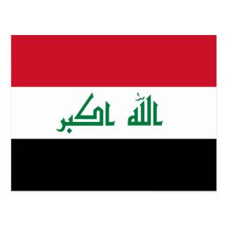 Current National Flag of Iraq Postcard