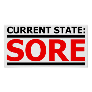 Current State: SORE Poster