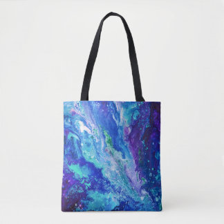 """Currents"" all-over print bag"