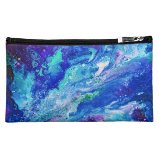 """""""Currents"""" clutch travel cosmetic bag"""
