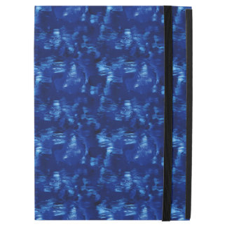 "Currents In a Lazy Blue River Abstract iPad Pro 12.9"" Case"