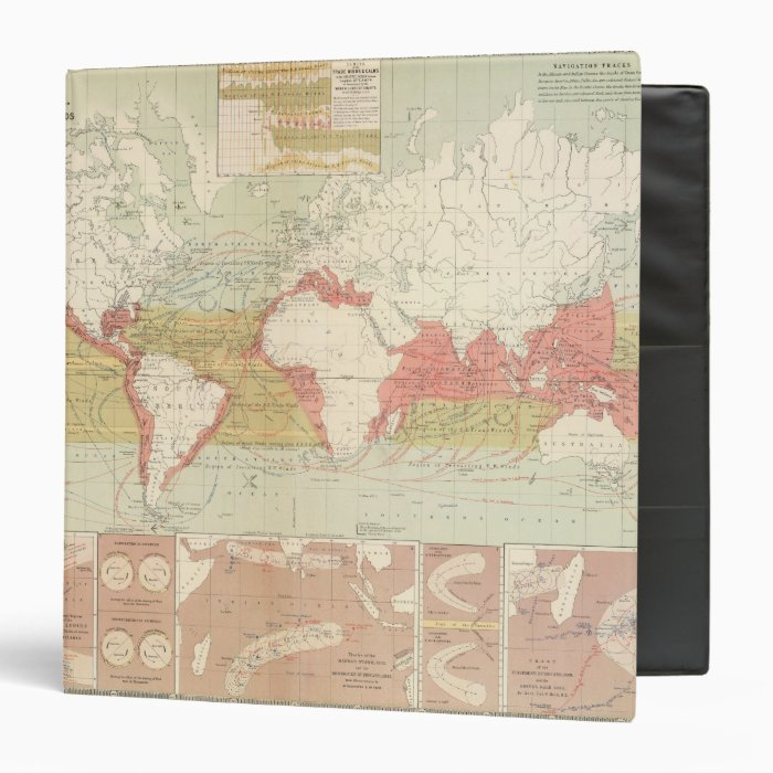 Currents of air 3 ring binder