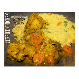 Curried Chicken Postcard