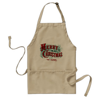 Currier & Ives Christmas Cooking Apron