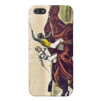 Currier & Ives -- Horse Racing iPhone Case