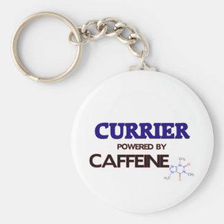 Currier Powered by caffeine Keychain