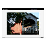 Currin Covered Bridge Decal For Laptop