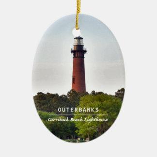 Currituck Beach Light. Ceramic Ornament