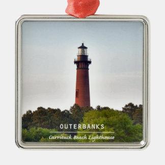 Currituck Beach Light. Metal Ornament