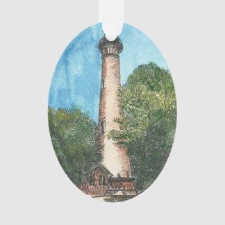 Currituck Island Lighthouse Holiday Ornament
