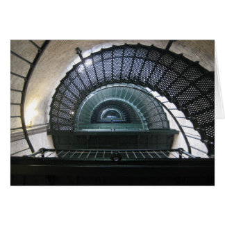 Currituck Light House Stairwell Card