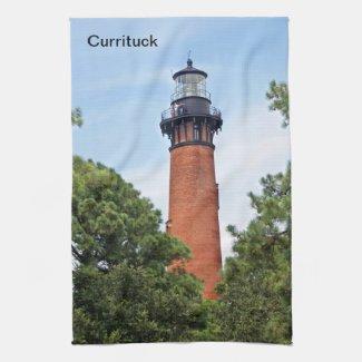 Currituck Lighthouse kitchentowel