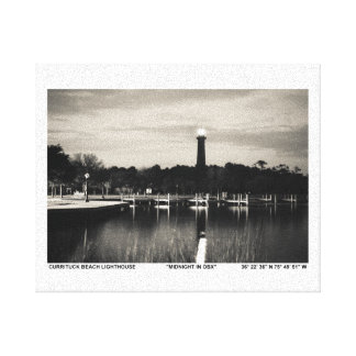 Currituck Lighthouse Gallery Wrapped Canvas