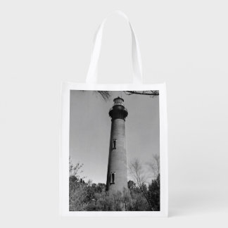 Currituck Lighthouse Grocery Bag