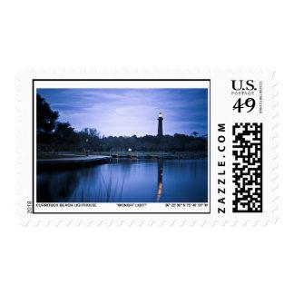 Currituck Lighthouse. Postage Stamp