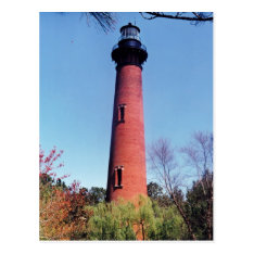 Currituck Lighthouse Postcard at Zazzle