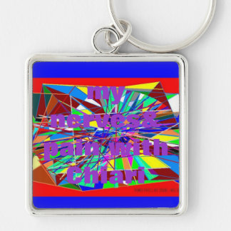 CURRRENT LEVEL OF PAIN KEYCHAIN