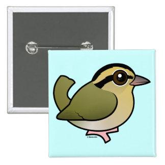 Curruca de la Gusano-consumición de Birdorable Pins