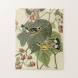 Curruca de la magnolia de Audubon Rompecabeza Con Fotos
