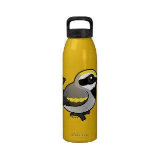 curruca De oro-coa alas Botella De Agua Reutilizable