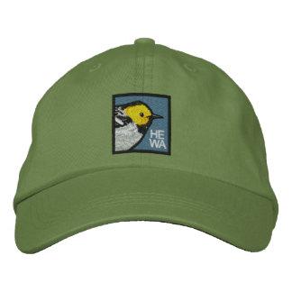 Curruca del ermitaño (no-apenada) gorra de beisbol