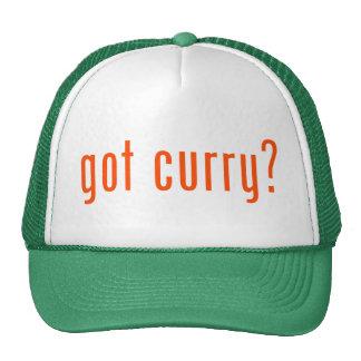 ¿curry conseguido? gorras de camionero