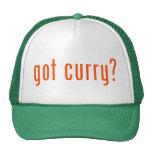 ¿curry conseguido? gorro de camionero